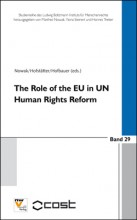 The Role of the EU in UN Human Rights Reform