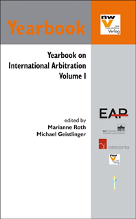 Yearbook on International Arbitration. Volume I