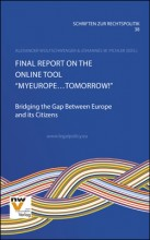 "Final Report on the Online Tool ""MyEurope…Tomorrow!"""