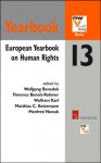 European Yearbook on Human Rights 2013